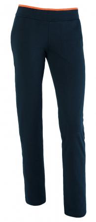 Pantalon bleumarin cu portocaliu [1]
