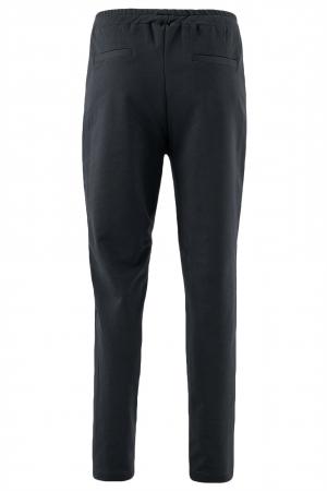 Pantaloni damă, LAZO LINE, Negru cu alb2