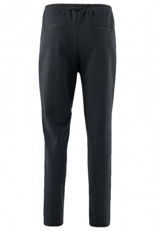 Pantaloni damă, LAZO LINE, Negru cu rosu1