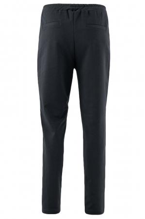 Pantaloni damă, LAZO LINE, Negru cu verde2
