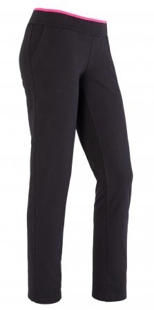 Pantalon dama bleumarin cu ciclam [0]
