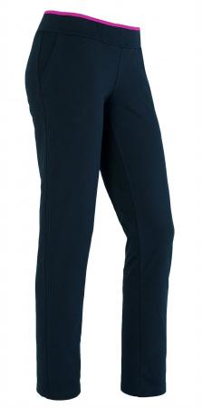 Pantaloni damă, LAZO bleumarin cu ciclam0