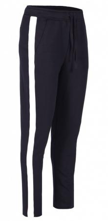 Pantaloni Damă LAZO AIR LINE Bleumarin cu Alb0