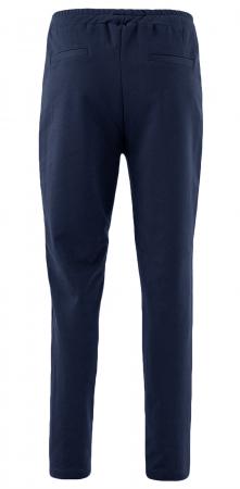 Pantaloni Damă LAZO AIR LINE Bleumarin cu Alb2