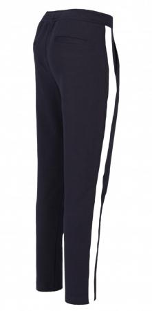 Pantaloni Damă LAZO AIR LINE Bleumarin cu Alb1