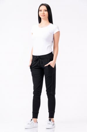 Pantaloni dama, Lazo Jogger, negru [2]