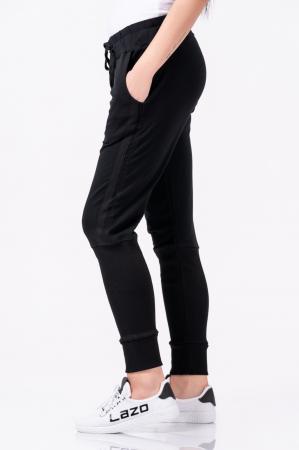Pantaloni dama, Lazo Jogger, negru [0]