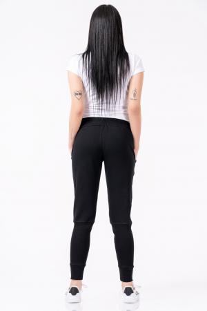 Pantaloni dama, Lazo Jogger, negru [3]