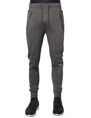 Pantaloni LAZO JOGGERS, Gri deschis3
