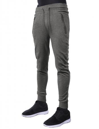 Pantaloni LAZO JOGGERS, Gri deschis1