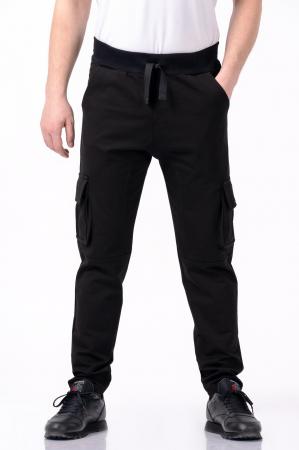 Pantaloni negri - Lazo Pocket [0]