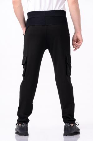 Pantaloni negri - Lazo Pocket [2]