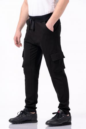 Pantaloni negri - Lazo Pocket [1]