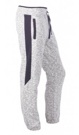 Pantaloni Bărbătești LAZO SMART FIT Gri cu Bleumarin1
