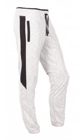 Pantaloni LAZO SMART FIT, Gri cu Negru0