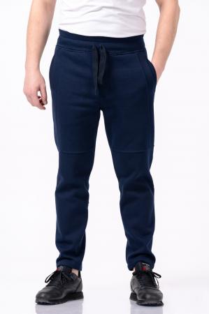 Pantaloni casual barbati - Bleumarin [0]