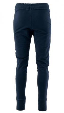 Pantaloni sport cu tur, Kara, bumbac, bleumarin2