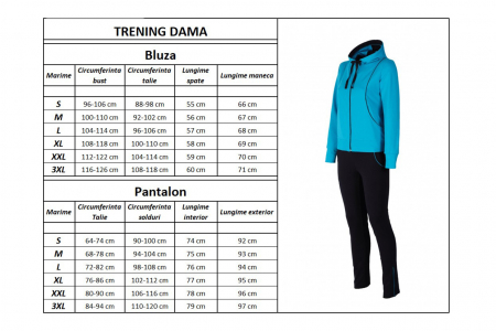 Trening Damă LAZO FLASH BLBN Bleu cu Bleumarin3