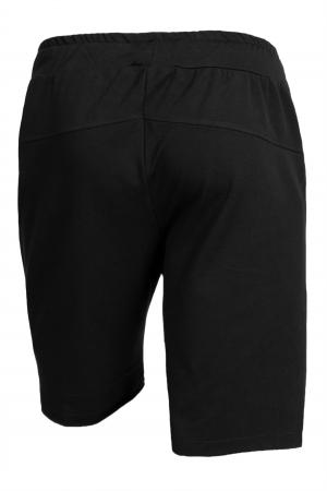 Pantalon scurt negru barbati1