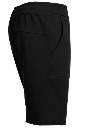 Pantalon scurt negru barbati2