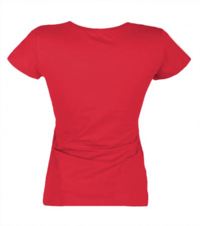 Tricou uni dama - Rosu [2]