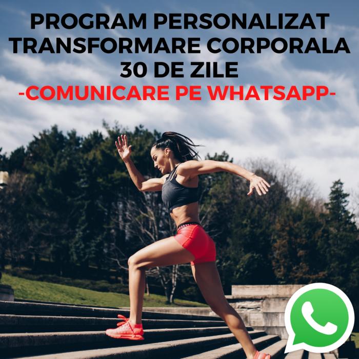 PROGRAM PERSONALIZAT TRANSFORMARE CORPORALA 30 DE ZILE - COMUNICARE LIVE PE WHATSAPP [0]