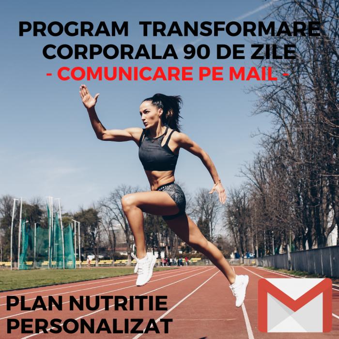 PROGRAM TRANSFORMARE CORPORALA 90 DE ZILE - CU COMUNICARE PE MAIL [0]