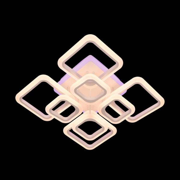Lustra LED NEW Square Design, SLC, Patrata 8 cu Telecomanda [4]