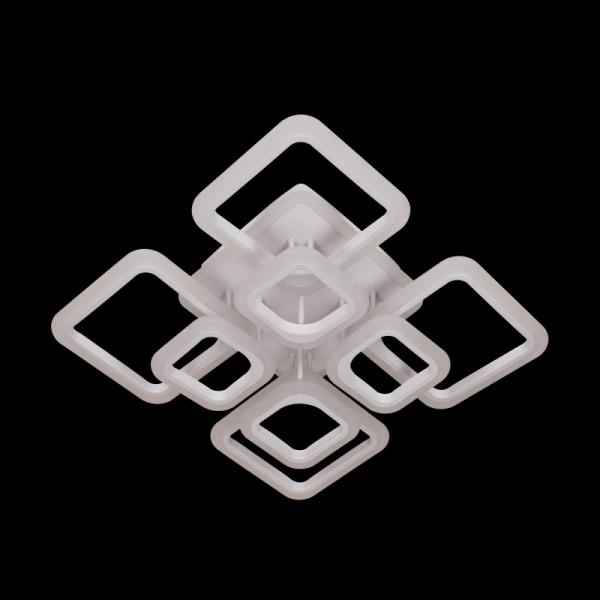 Lustra LED NEW Square Design, SLC, Patrata 8 cu Telecomanda [2]