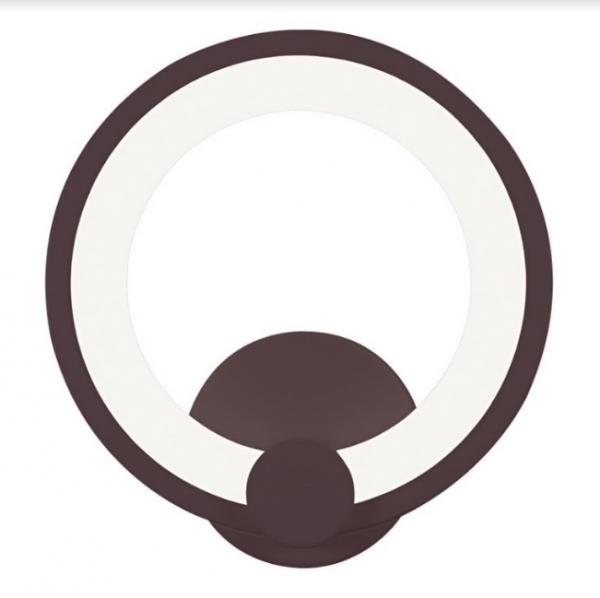 Aplica perete Led Circle Design Coffe [0]