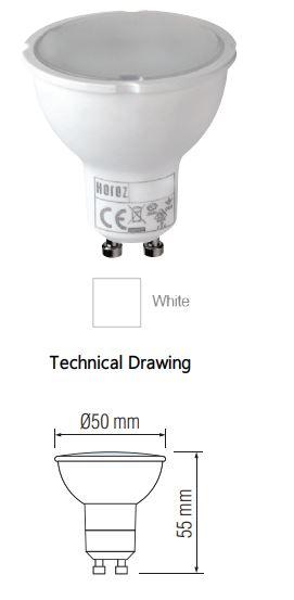 Bec LED SLC Plus 4W, 250 Lumeni, 3000K/6400K [1]