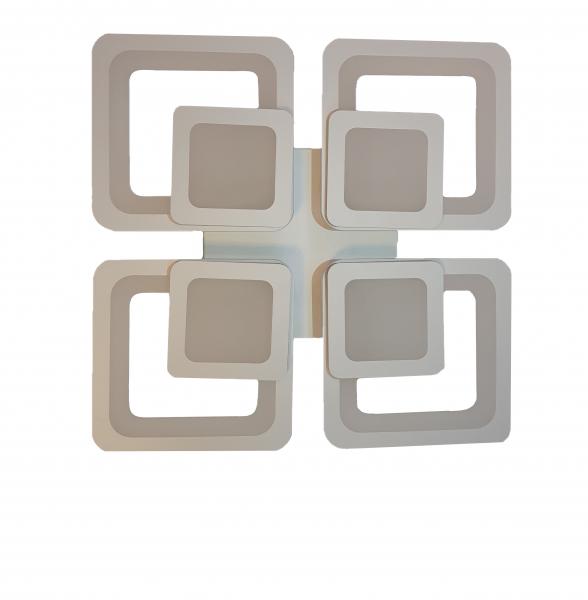 Lustra LED Square Design, SLC, Patrata 50 cu Telecomanda [1]