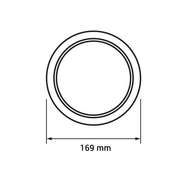 Aplica Led 12W rotunda [1]