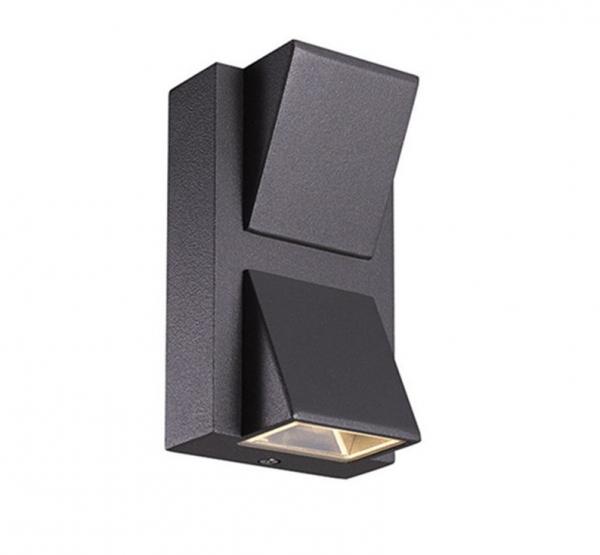 Aplica perete exterior 6 W simetrica [0]