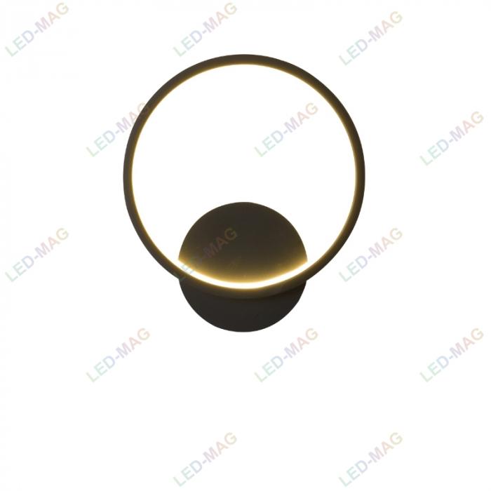 Aplica perete LED Circle Design Neagra [1]