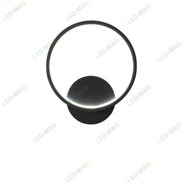 Aplica perete LED Circle Design Neagra [3]