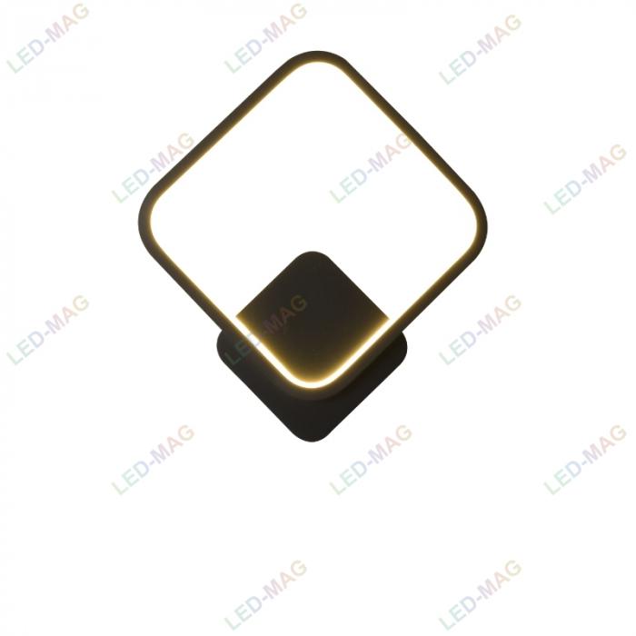 Aplica perete LED Square Design Neagra [2]