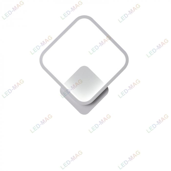 Aplica perete LED New Square Design Alba [4]