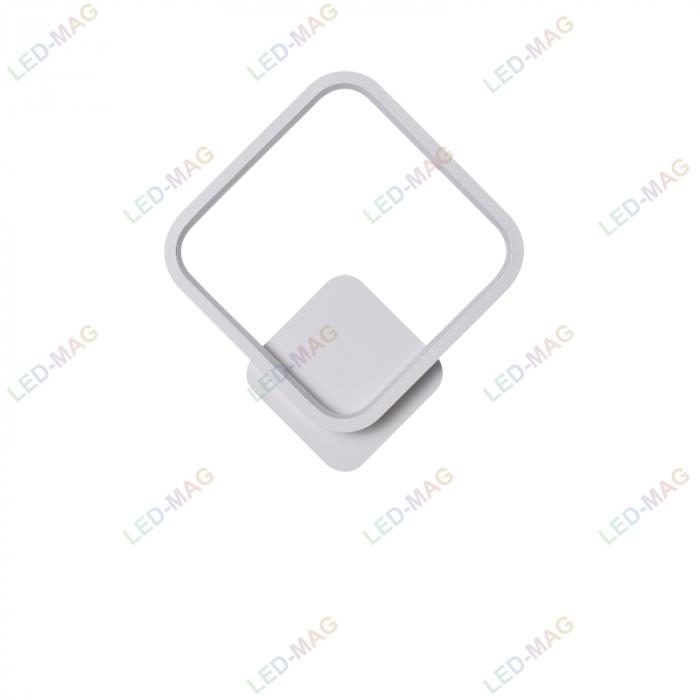 Aplica perete LED New Square Design Alba [3]