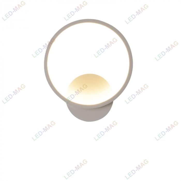 Aplica perete LED New Circle Design Alba [3]