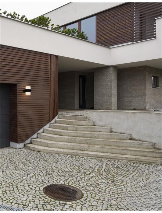 Aplica perete rotunda exterior 12 W [0]