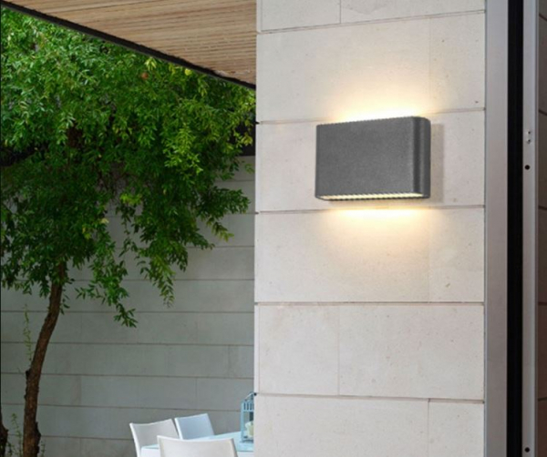 Aplica perete exterior 10 W slim [0]