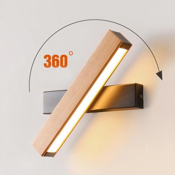 Aplica led perete lemn [1]