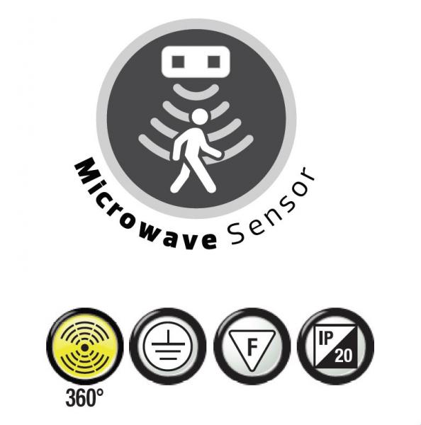 Aplica led cu senzor de miscare [2]
