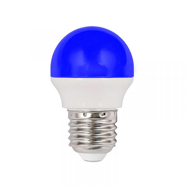 Bec Led 2W Albastru E27 Lumina neutra [0]
