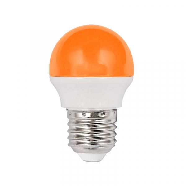 Bec Led 2W Galben E27 Lumina neutra [0]