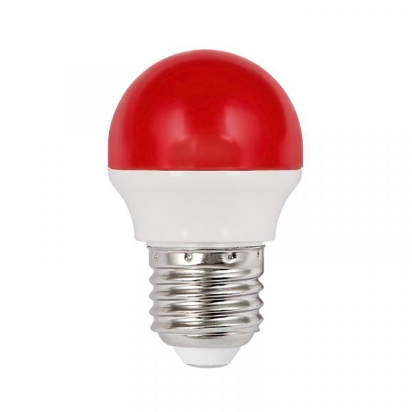 Bec Led 2W Rosu E27 Lumina neutra [0]