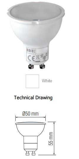 Bec LED SLC Plus 6W, 390 Lumeni, 3000K [1]