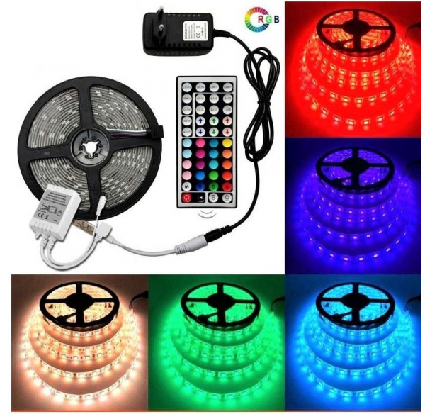 Kit Banda Led RGB 5 m cu telecomanda [0]