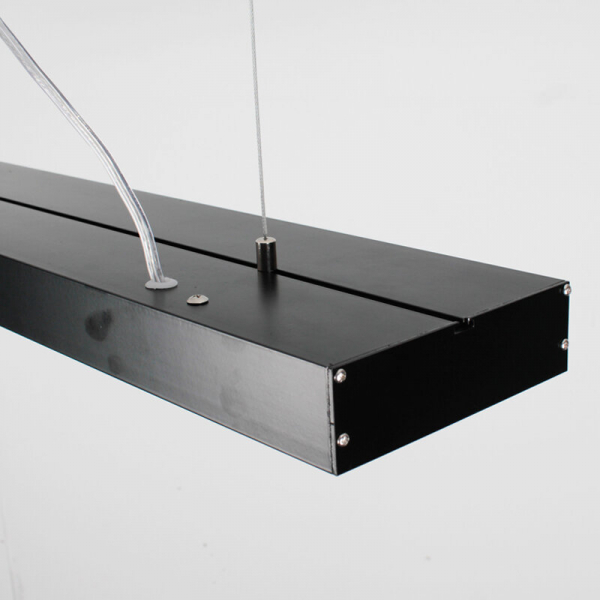 Lampa suspendata birou led negru [1]